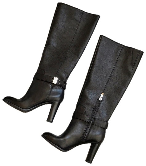 Preload https://img-static.tradesy.com/item/25378143/enzo-angiolini-black-sumilow-leather-heeled-bootsbooties-size-us-75-regular-m-b-0-1-540-540.jpg