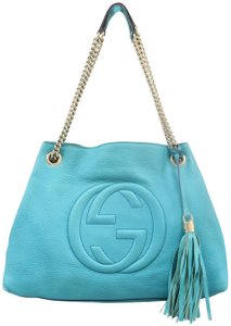 0bee37a40acf Gucci Soho Leather Shoulder Bags - Up to 70% off at Tradesy (Page 4)