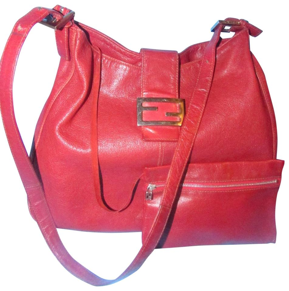 913cb6aa0d1 Fendi Hobo Shoulder Leather/Gold Excellent Condition 'chef' Hobo Chic Edgy  Look Tote ...