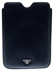 9b486a34c6433 Prada Navvy Blue Saffiano Lux Leather iPad Case