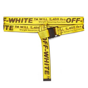 Off-White™ logo jacquard industrial canvas belt