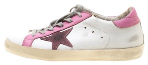 Golden Goose Deluxe Brand Leather White Flats