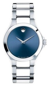 Movado Defio Stainless Sapphire Blue Dial 0606335