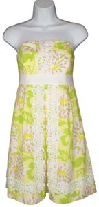 Lilly Pulitzer short dress Mini Strapless on Tradesy