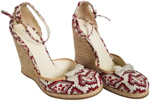 Miu Miu white, multi Wedges
