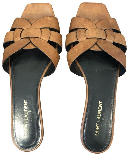 Item - Brown Tribute (Nu Pieds) Sandals Size EU 37.5 (Approx. US 7.5) Narrow (Aa, N)