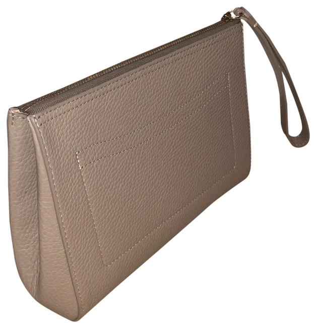 Item - Work Stone Italian Pebbled Leather Clutch