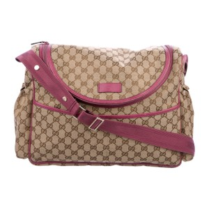 Gucci Beige and pink Diaper Bag
