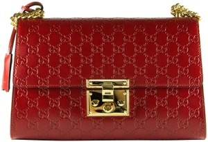 d61c4f29850609 Red Leather Gucci Bags - 70% - 90% off at Tradesy