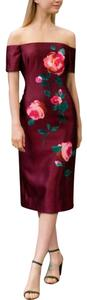 Lela Rose Silk Dress