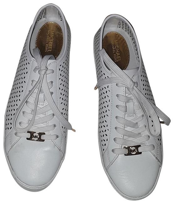 Item - White Olivia Lace Up Sneakers Size US 7.5 Regular (M, B)
