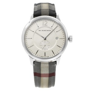 Burberry The Classic Round Steel Quartz Mens Watch BU10002