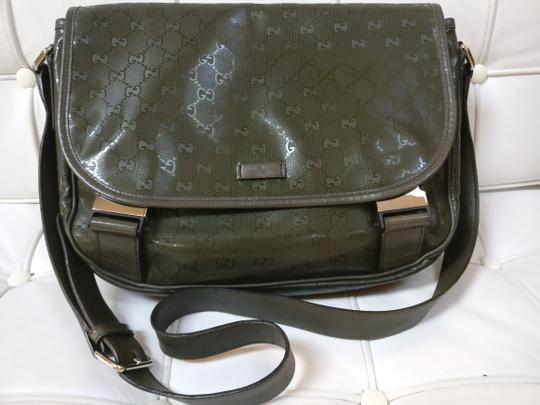 Gucci Gg Supreme Monogram Diaper Cross Body Bag Image 2