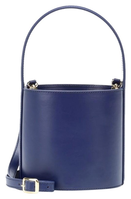 Item - Bucket Bissett Navy Leather Hobo Bag
