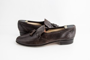 Bally Brown Dridor Driving Loafers Dark Shoes