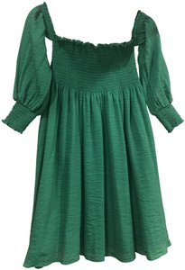 English Factory short dress Emerald Green on Tradesy