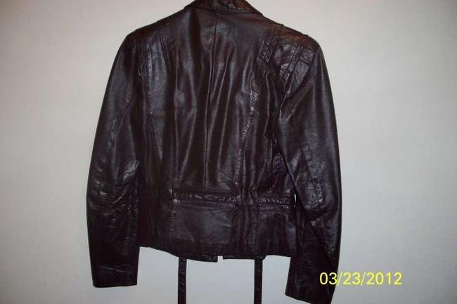 Berman's Dark Brown Leather Jacket