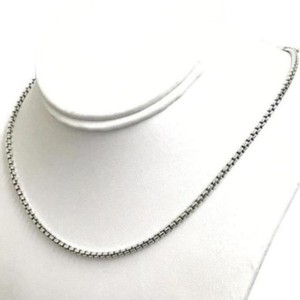 David Yurman STYLISH LOOK!! David Yurman Sterling Silver Box Link Chain