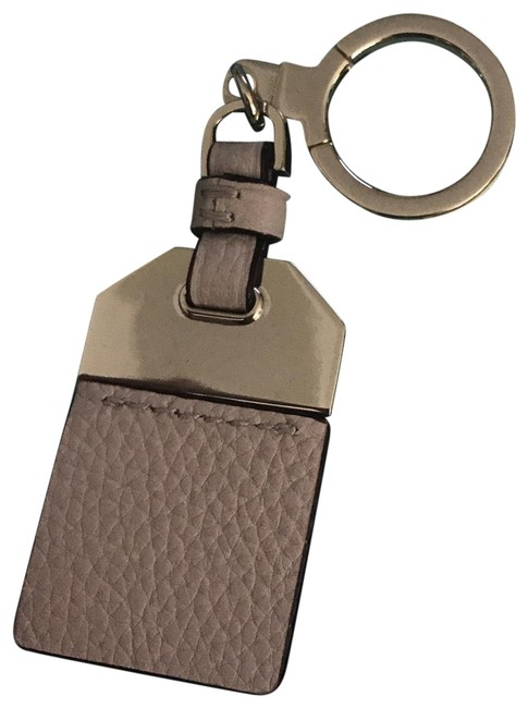 Item - Tan Leather Keyring