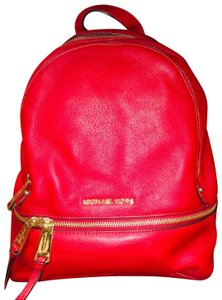 e4ff7853dfc0 Red Michael Kors Backpacks - Over 70% off at Tradesy