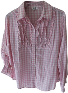 Seven7 Button Down Shirt Pink