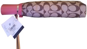 Coach Coach Full size umbrella with matching coverlet