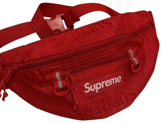 Item - / Fanny Pack Red and White Cross Body Bag