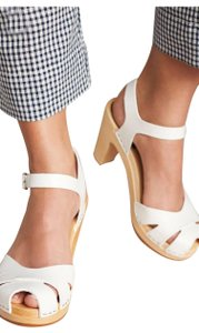 swedish hasbeens White Sandals