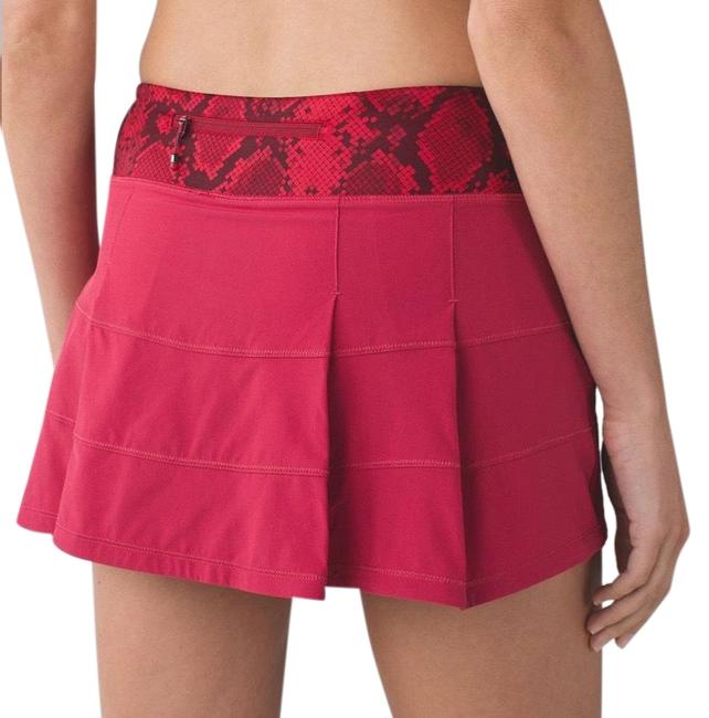 Item - Cranberry / Mini Ziggy Snake Red Tide Cranberry Pace Rival Ii (Regular) *4-way Stretch Activewear Bottoms Size 4 (S)