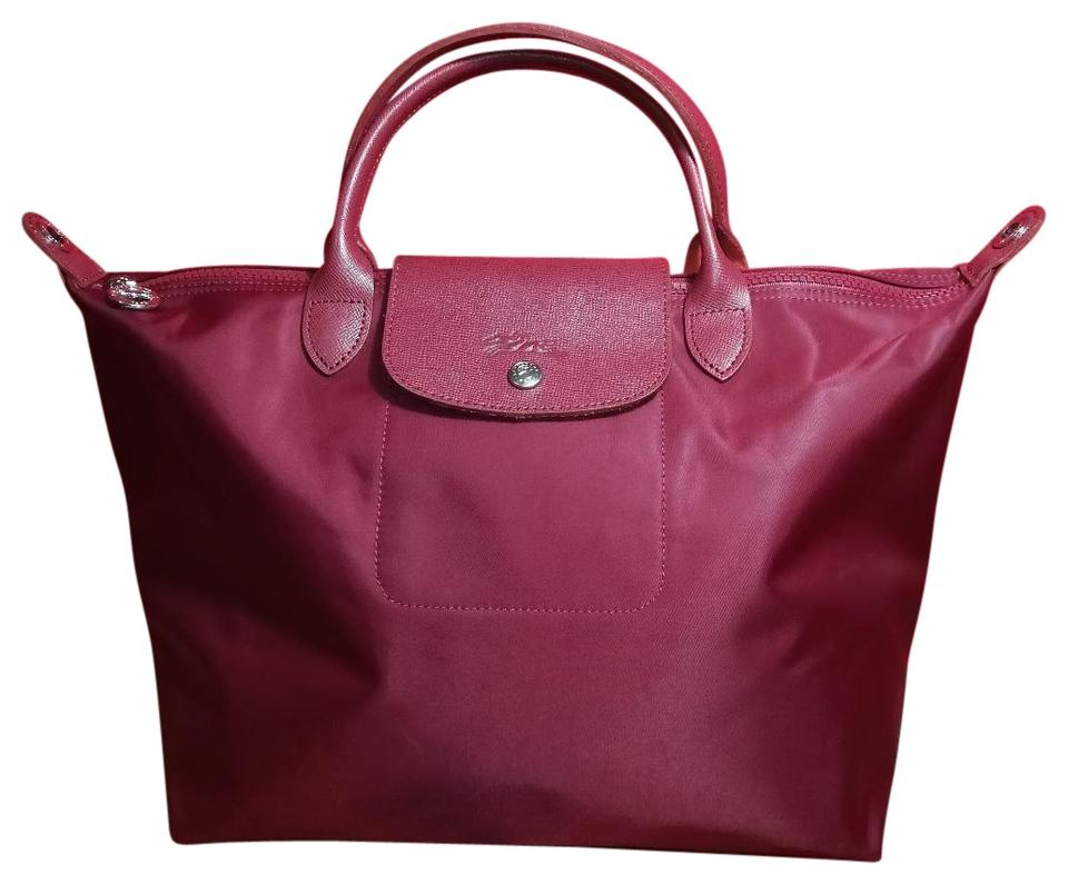 e32ec56a16a Longchamp Excellent Lightweight Folding Waterproof Tote in Opera Red #609  Image 0 ...