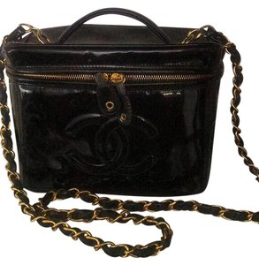 bbb24a494c33 Black Patent Leather Chanel Bags - 70% - 90% off at Tradesy