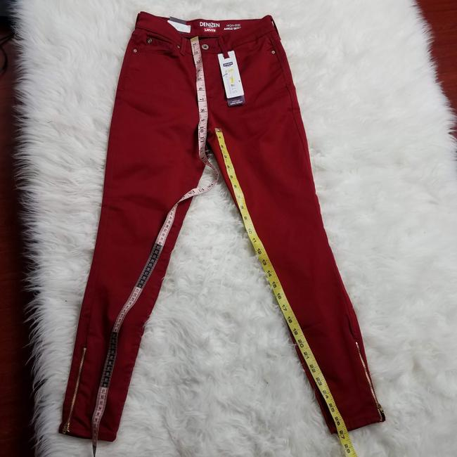Levi's Red Dark Rinse High Misses 2 Skinny Jeans Size 25 (2, XS) Levi's Red Dark Rinse High Misses 2 Skinny Jeans Size 25 (2, XS) Image 8