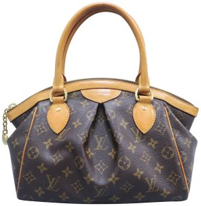 Louis Vuitton Tivoli Monogram Pm Canvas Tote in Brown
