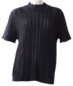 Escada Knit Top Black