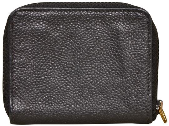 Chanel CC Logo Black Caviar Zippered Coin Purse Wallet Image 2