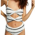 10 Crosby Derek Lam Twist Cut-out One-piece Swimsuit Bathing Suit