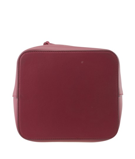 Fendi Leather Tote in Red Image 5