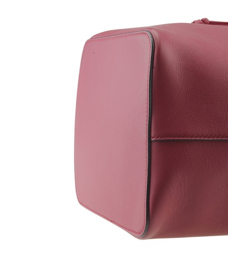 Fendi Leather Tote in Red Image 7