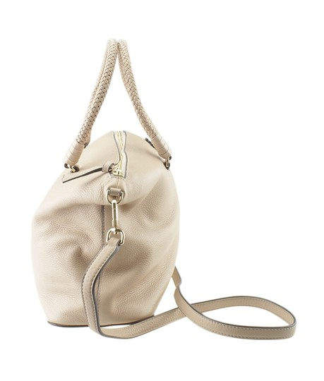 Tory Burch Xleather Tote in Beige Image 2