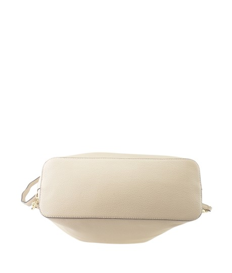 Tory Burch Xleather Tote in Beige Image 5