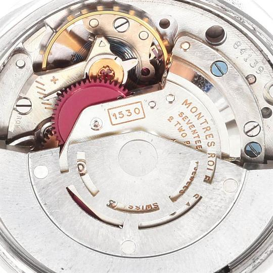Rolex Rolex Air King Vintage Stainless Steel Silver Dial Mens Watch 5500 Image 5