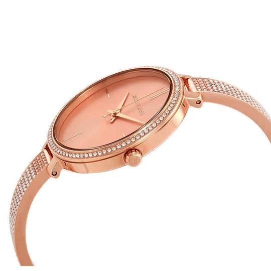 Michael Kors Jaryn Index H-Marker Gold S-Steel Quartz Round Ladies Watch Image 1