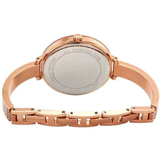Michael Kors Jaryn Index H-Marker Gold S-Steel Quartz Round Ladies Watch Image 2