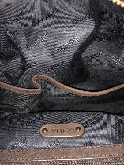 Botkier Leather Distressed Satchel in Brown Image 6
