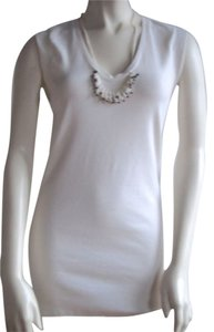 Brunello Cucinelli Knit Top Ivory