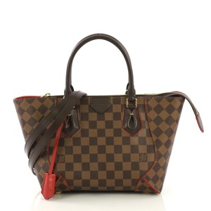 Louis Vuitton Canvas Tote in ebene brown