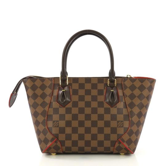Louis Vuitton Canvas Tote in ebene brown Image 3