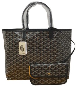 Goyard St. Louis St. Louis Pm St. Louis St. Louis Neverfull Tote in Black
