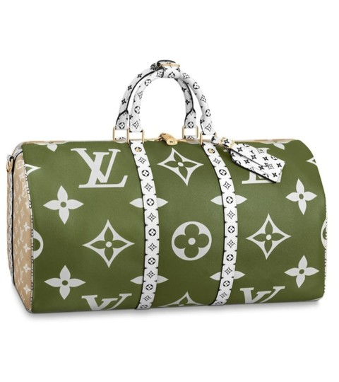 Preload https://img-static.tradesy.com/item/25385136/louis-vuitton-duffle-keepall-giant-50-beige-and-khaki-green-monogram-canvas-weekendtravel-bag-0-2-540-540.jpg