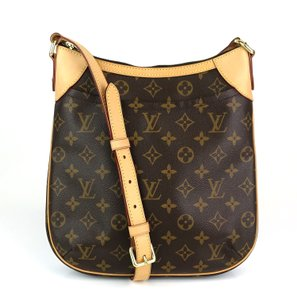 Louis Vuitton Messenger Brown Leather Odeon Shoulder Bag